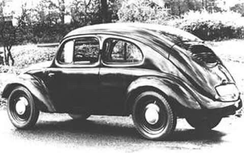 Primer vocho. 26 de febrero 1936 diseñado por Ferdinand Porsche