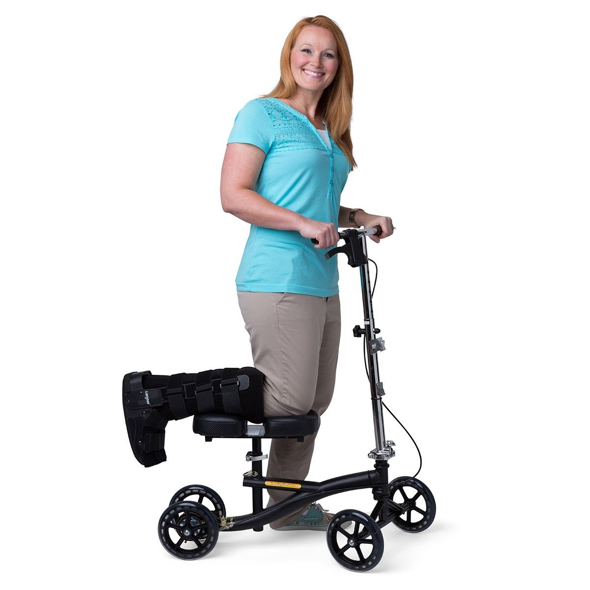 Knee Scooter Best Option To Crutches After Foot Ankle