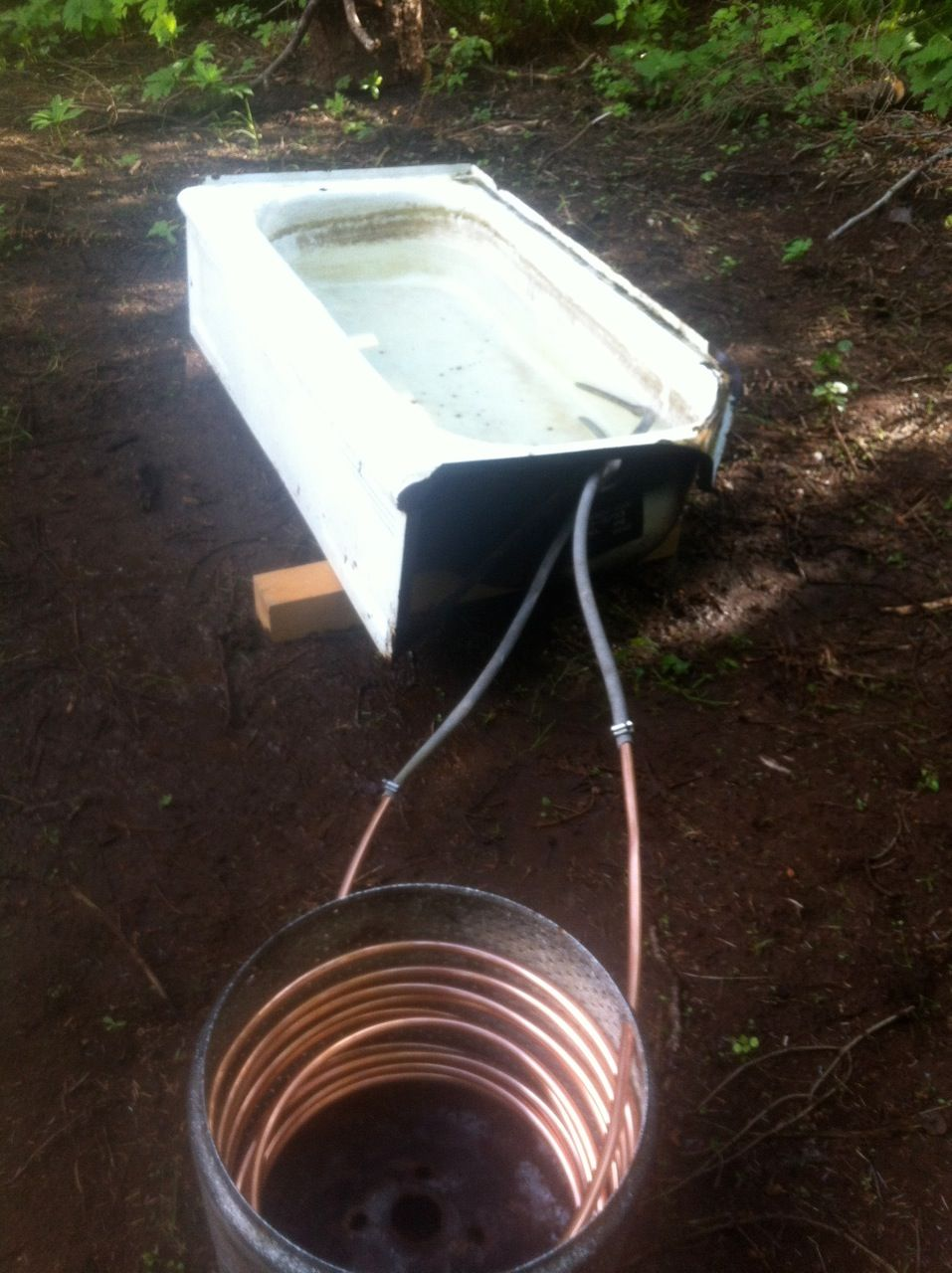 Dirtbag s guide to building a backcountry hot tub teton - How to make your own swimming pool heater ...