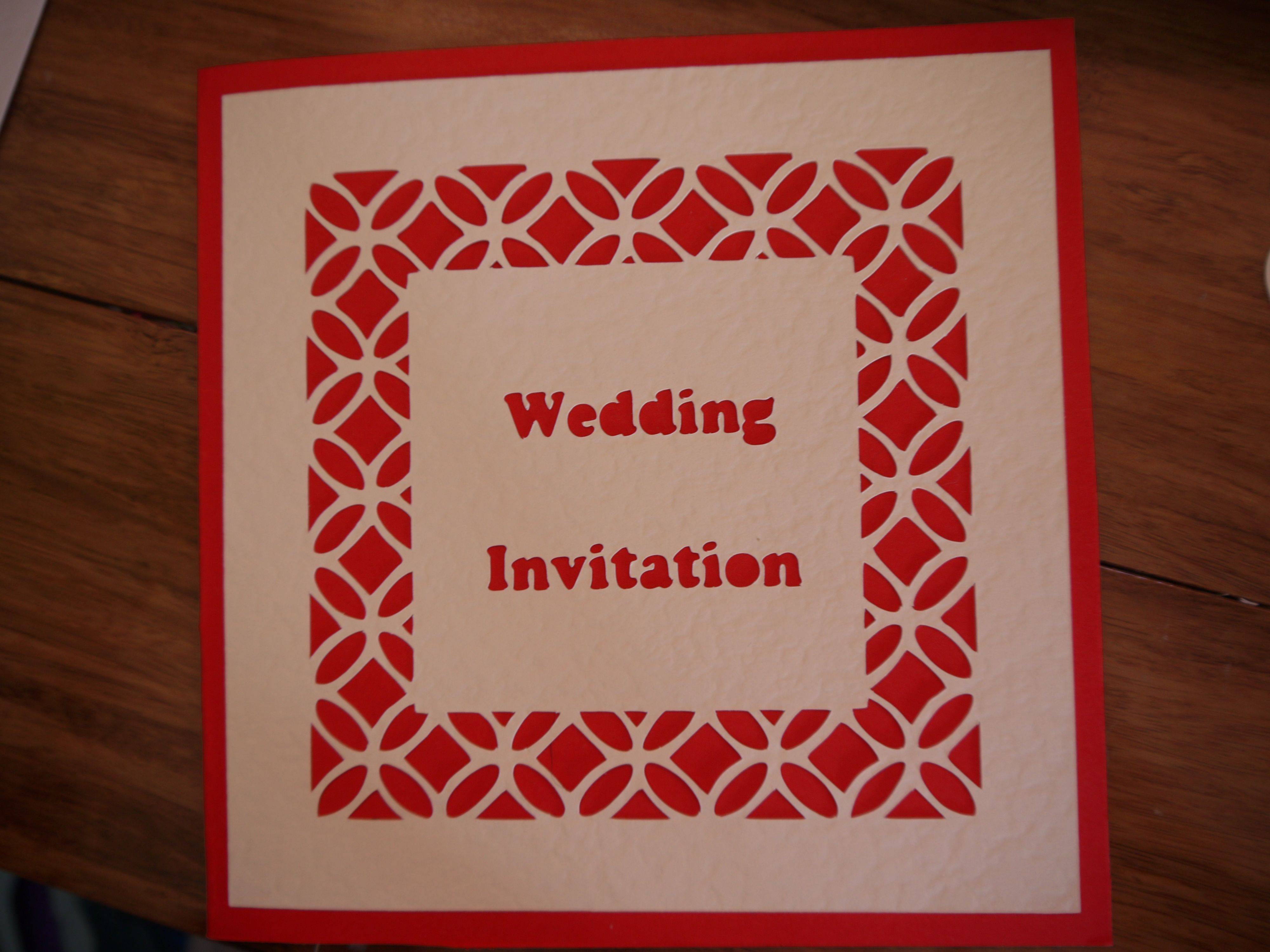 Exelent Booklet Wedding Invitations Gift - Invitations and ...