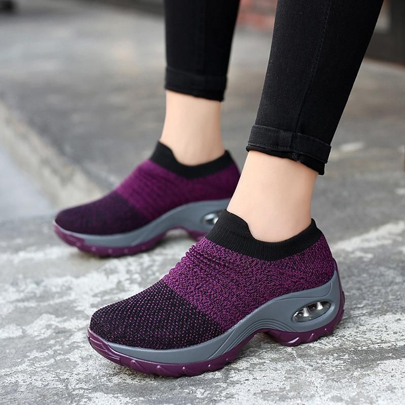 bab5af4ecccd  Women s air cushion thick-soled sports and leisure fashion mesh shoes   Shop Now! All colors