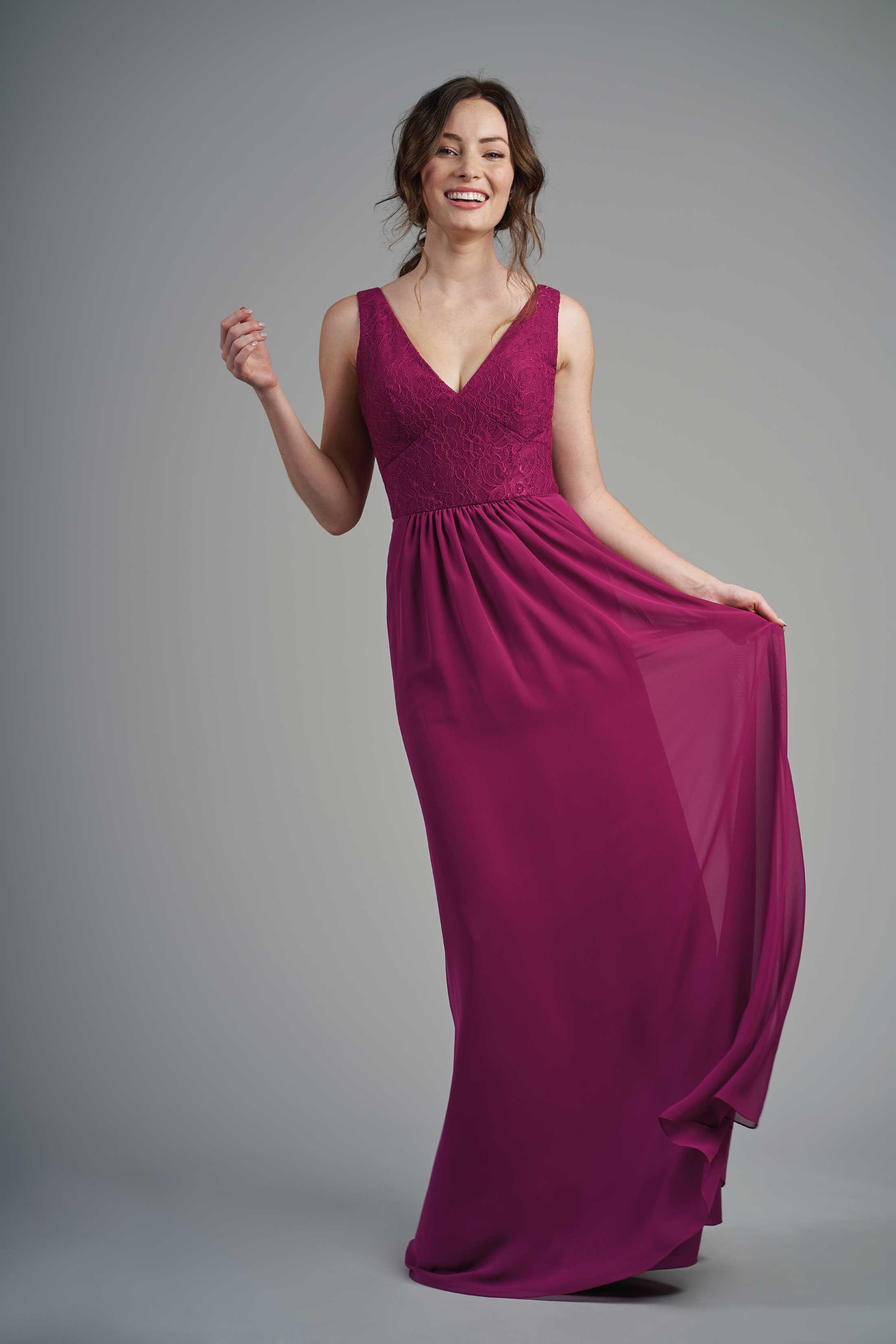 Abendmode Jasmine  Abendkleid B19  Brautjungfernkleid