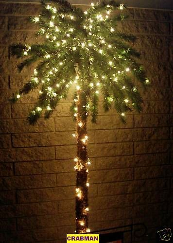 7 Ft 300 Lighted Palm Tree For Patio Deck 7 Foot Tree Relax Jimmy Buffett |