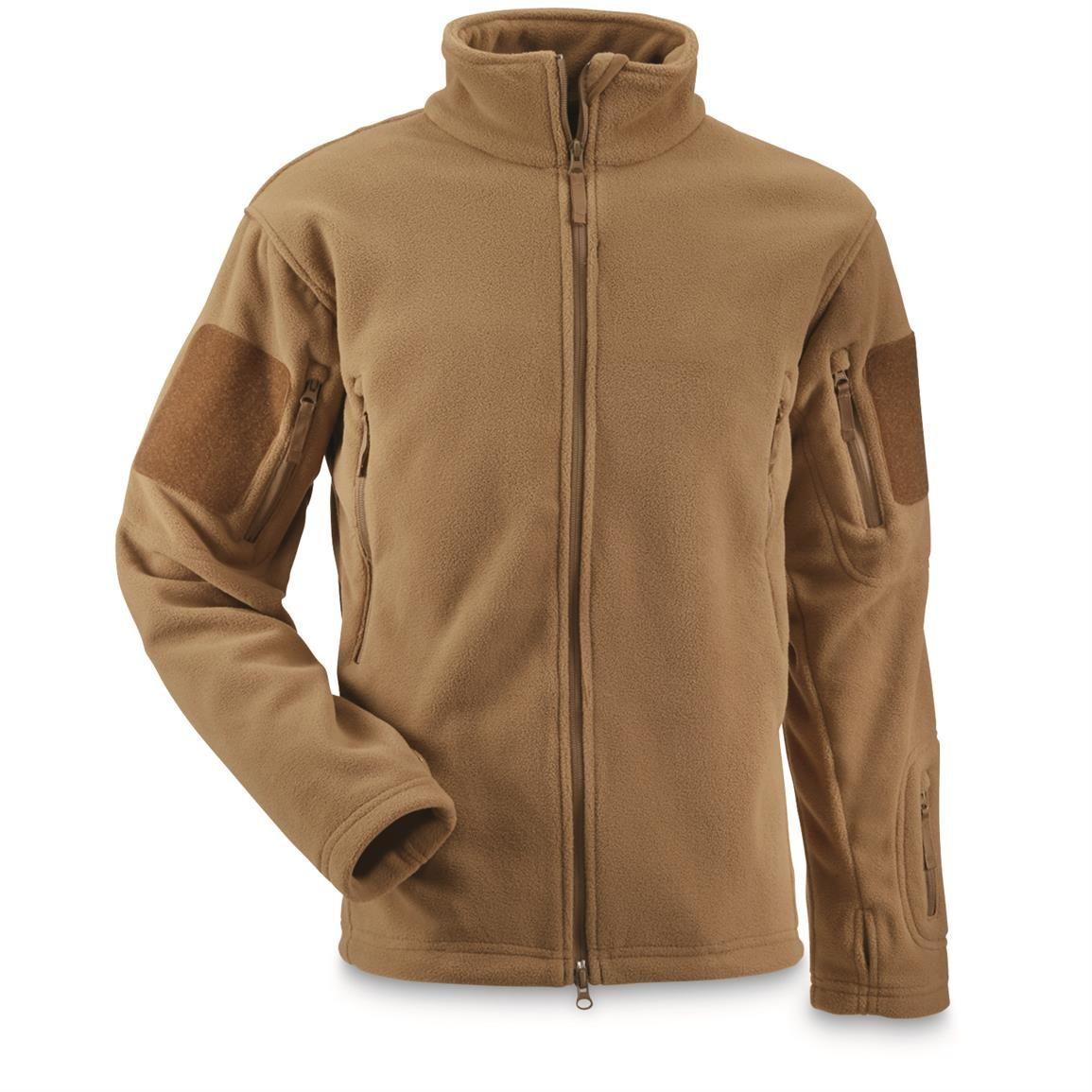 U.S. Military Surplus Fleece Tactical Jacket, New