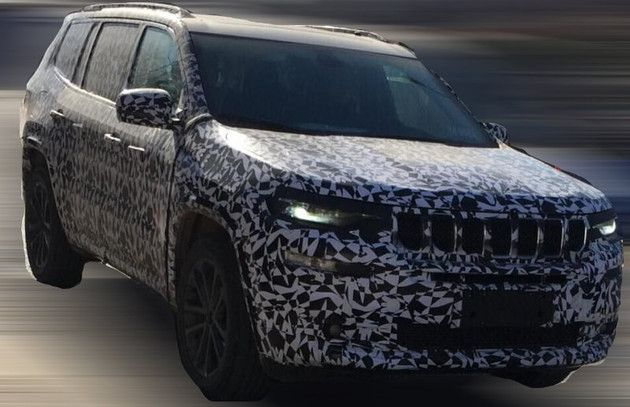 Jeep Grand Commander Jeep 7 Seat Suv Continues Testing In China