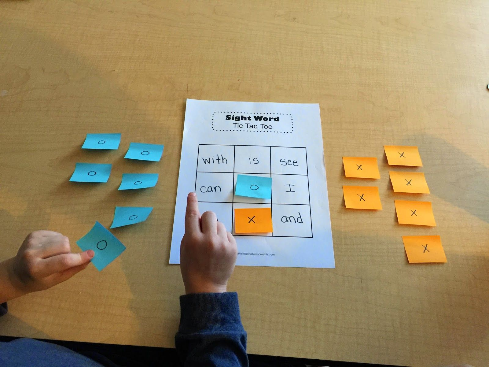 Finding The Teachable Moments Word Tic Tac Toe 4 Ways
