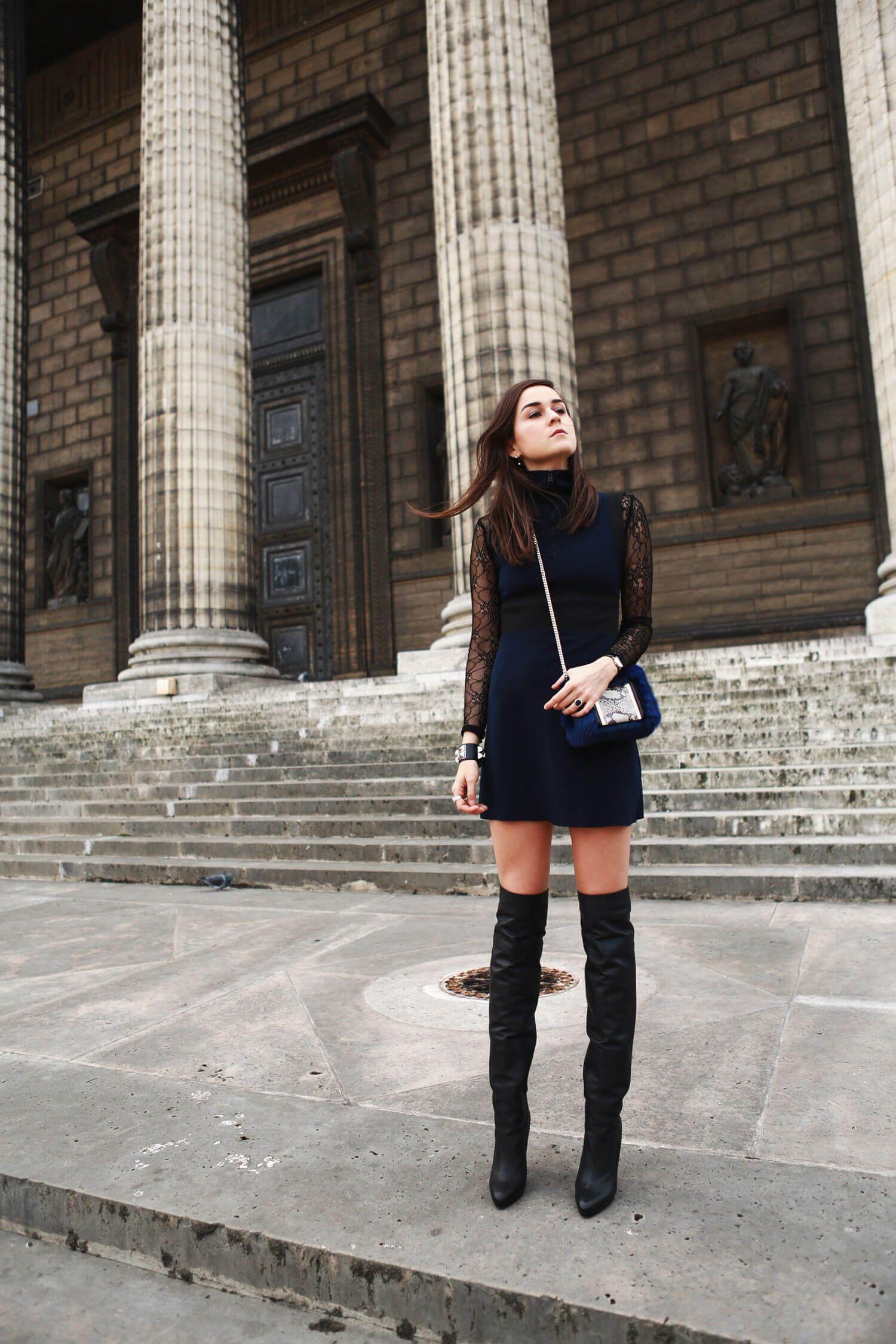 KNEE HIGH BOOTS | Short girl fashion