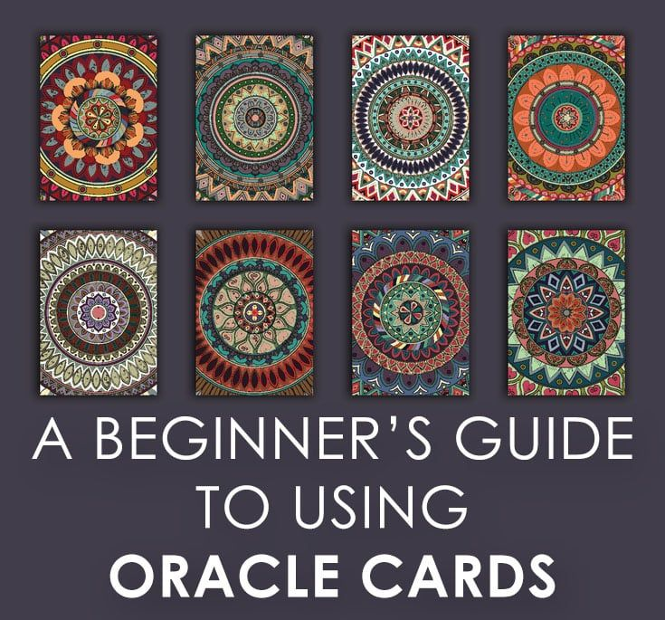 How to receive spiritual guidance using oracle cards