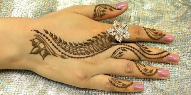 Stylish Mehndi Designs 2018 With New Patterns For Beginners Sleeve