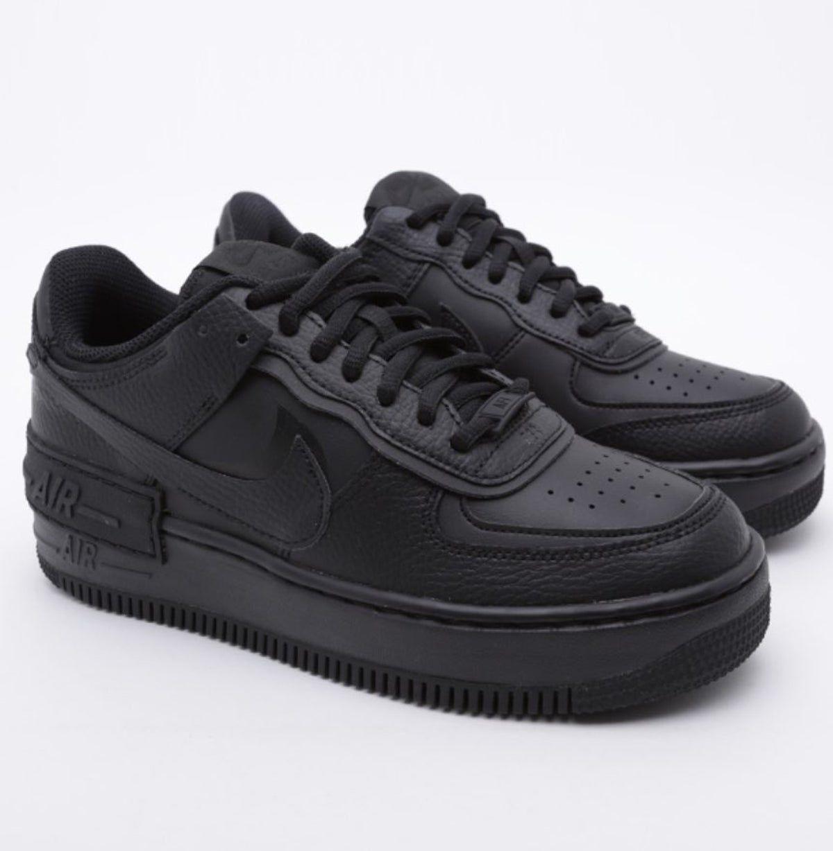 Nike air shoes, Nike air force black