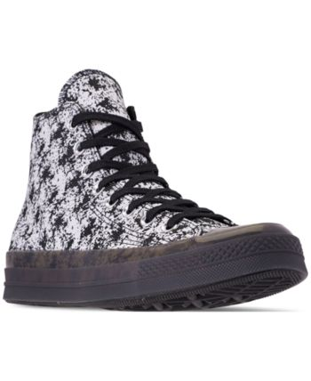 7b37944ded4 Converse Men s Chuck Taylor All Star 70 High Top Casual Sneakers from Finish  Line - Black 10