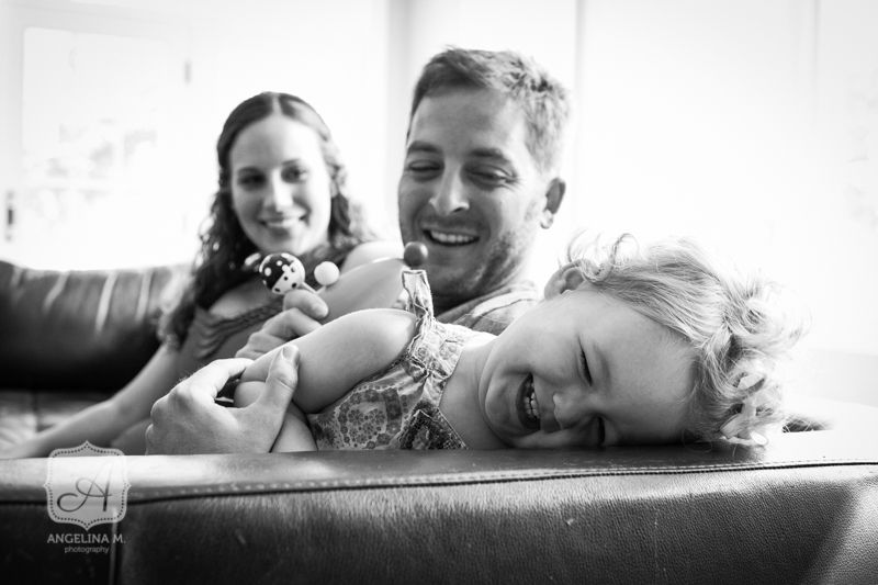 Natural Light Family Lifestyle Portrait Session | Angelina M. Photography, LLC