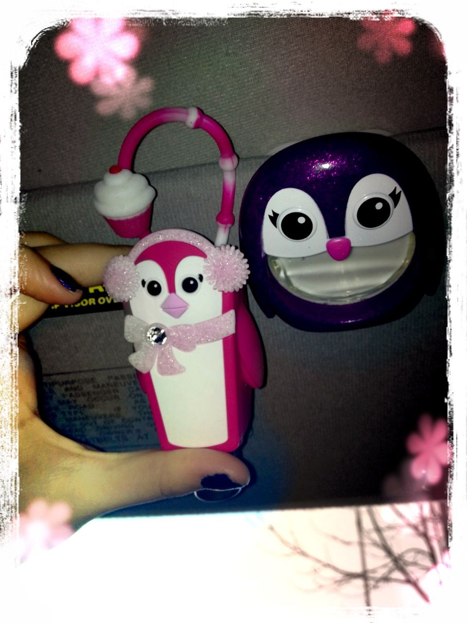 Penguin Hand Sanitizer Holder And Car Freshener Hand Sanitizer
