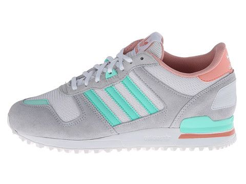 adidas Originals ZX 700 Clear GreyBahia MintFade Rose