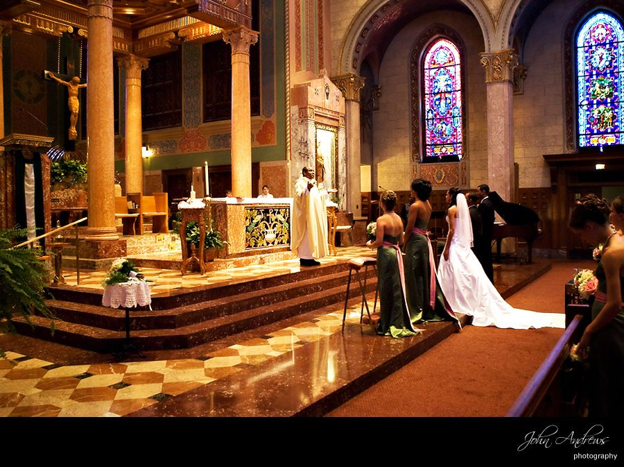 Saint Giles Chicago Wedding Ceremony Sites