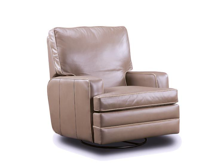 Swivel Recliner | 2947SR Swivel Rocker Recliner : Leathercraft Furniture