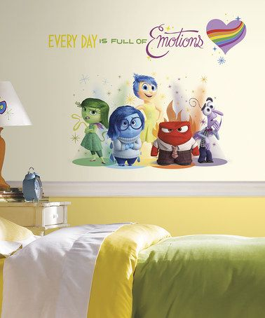 Another great find on #zulily! Inside Out Burst Giant Wall Decal Set ...