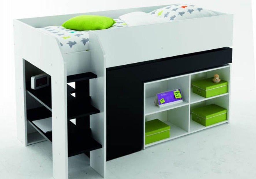 lit mezzanine salut teo fly chambre d enfants on shoppe un lit mezzanine elle babies on. Black Bedroom Furniture Sets. Home Design Ideas