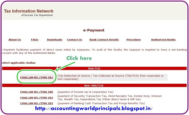 TDS or TCS Payment through Online | Income Tax | Tax