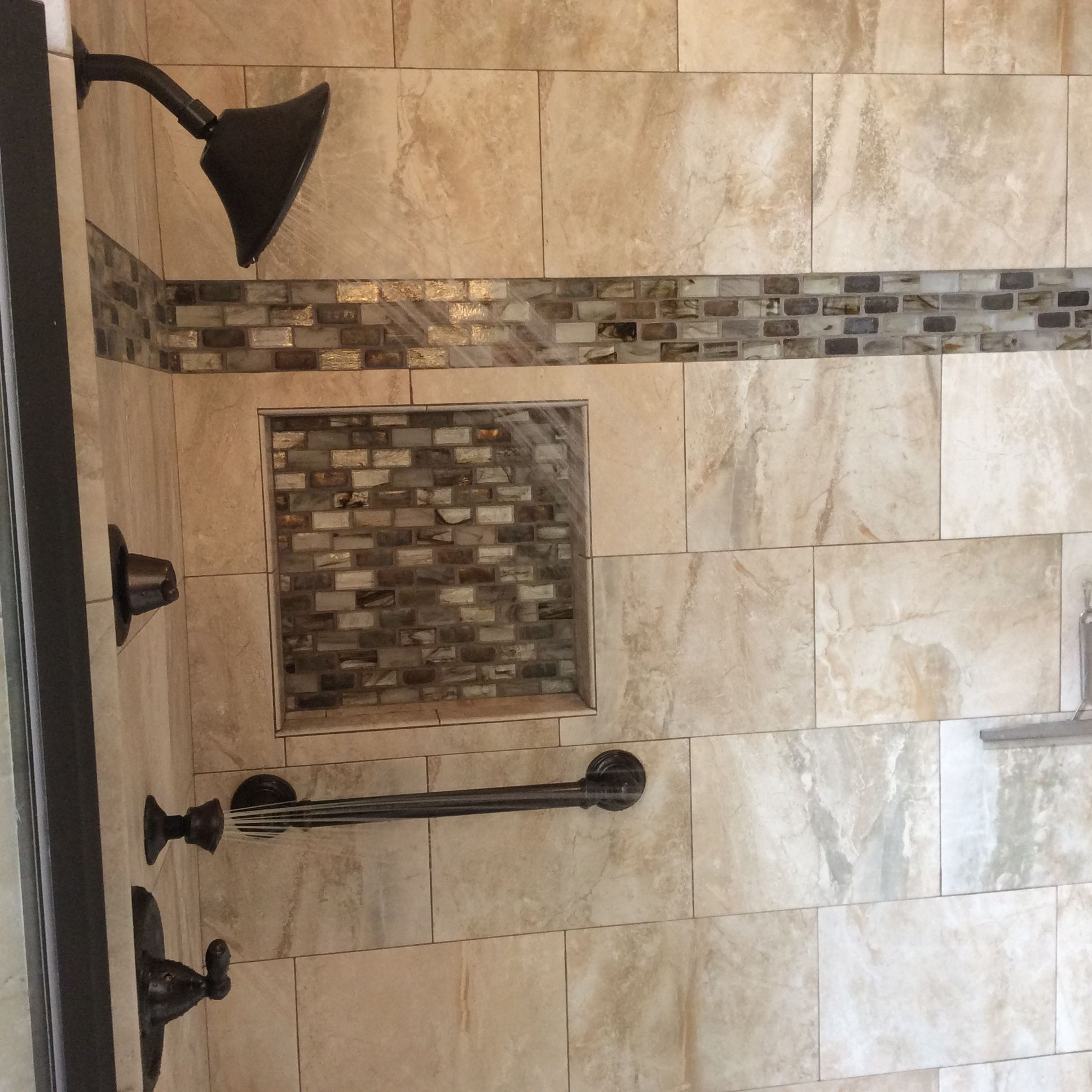 How To Install Bathroom Tile In Corners Bathroom Tile: Ultimate Master Bath Remodel With Custom Tile, Corner