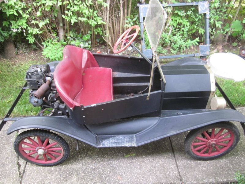Vintage Model T Go Cart Wood Spoke Wheels Diy Go Kart