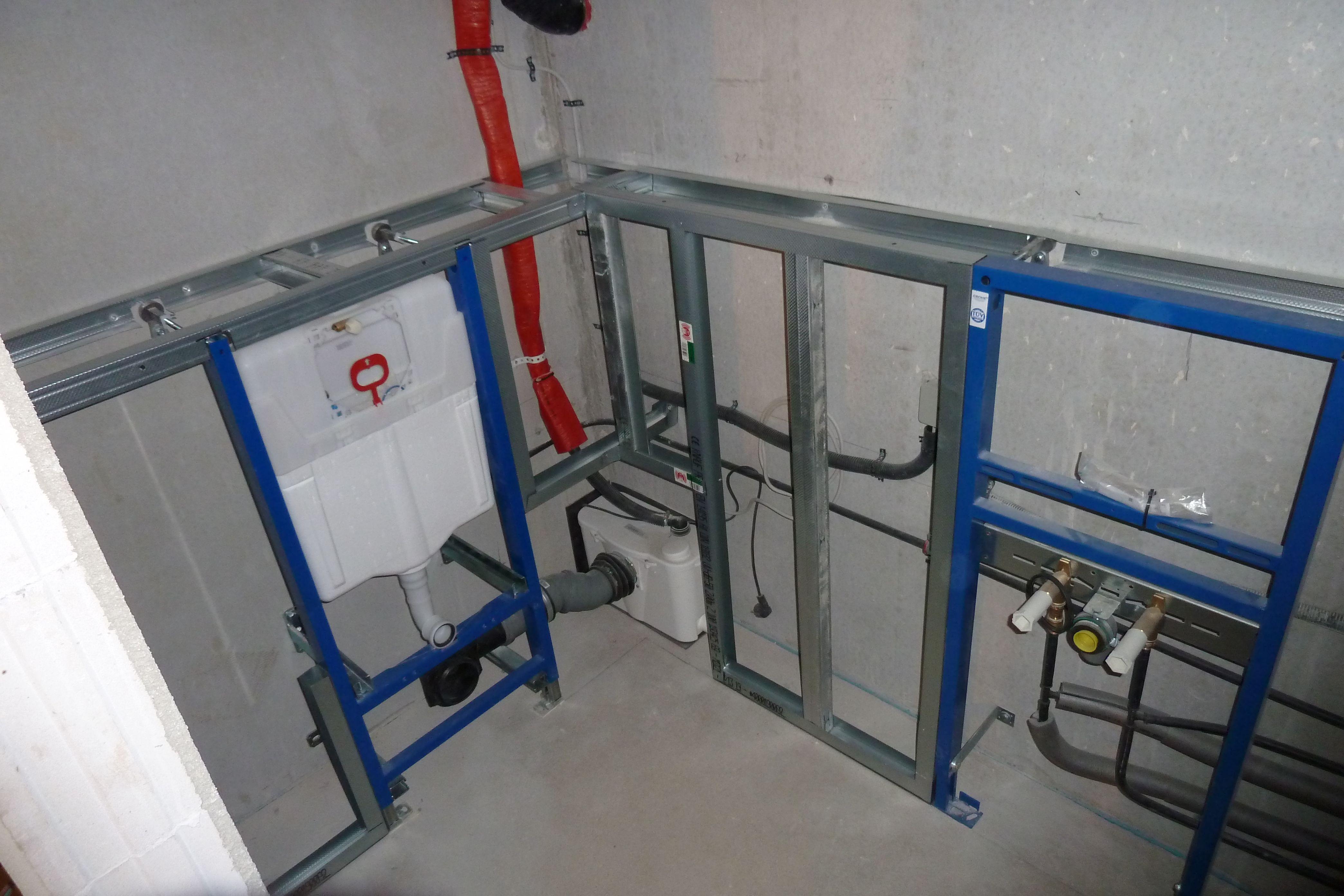 Trockenbau Systeme Im Badezimmer  Trockenbau, Badezimmer