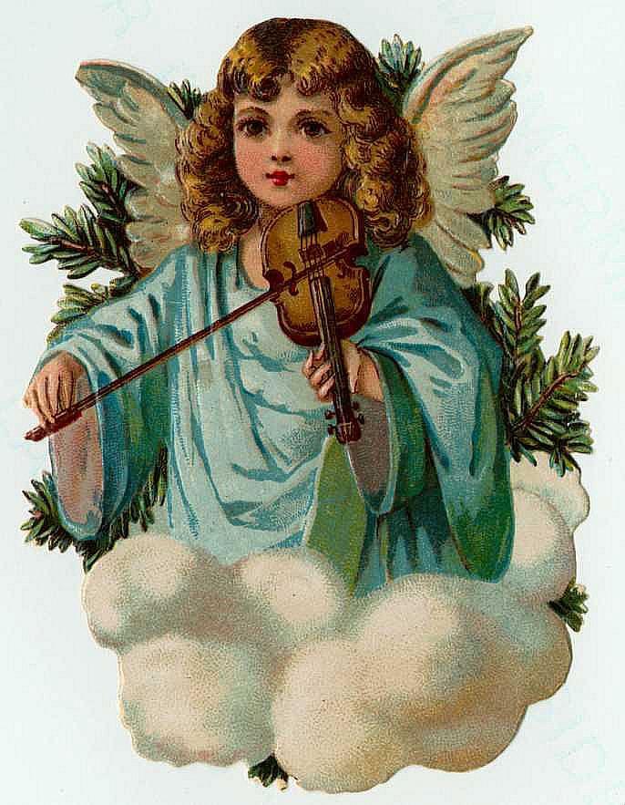 Ангел для рождества картинка елочка
