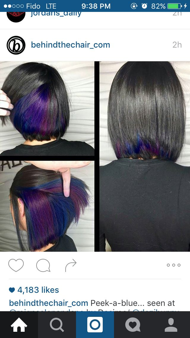 Pin By Violeta On Cropping Hair Hair Styles Hair Color Purple