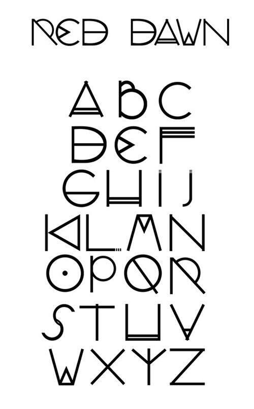 Font red dawn Graphic Design Pinterest Dawn, Fonts and Bullet - fresh define blueprint design