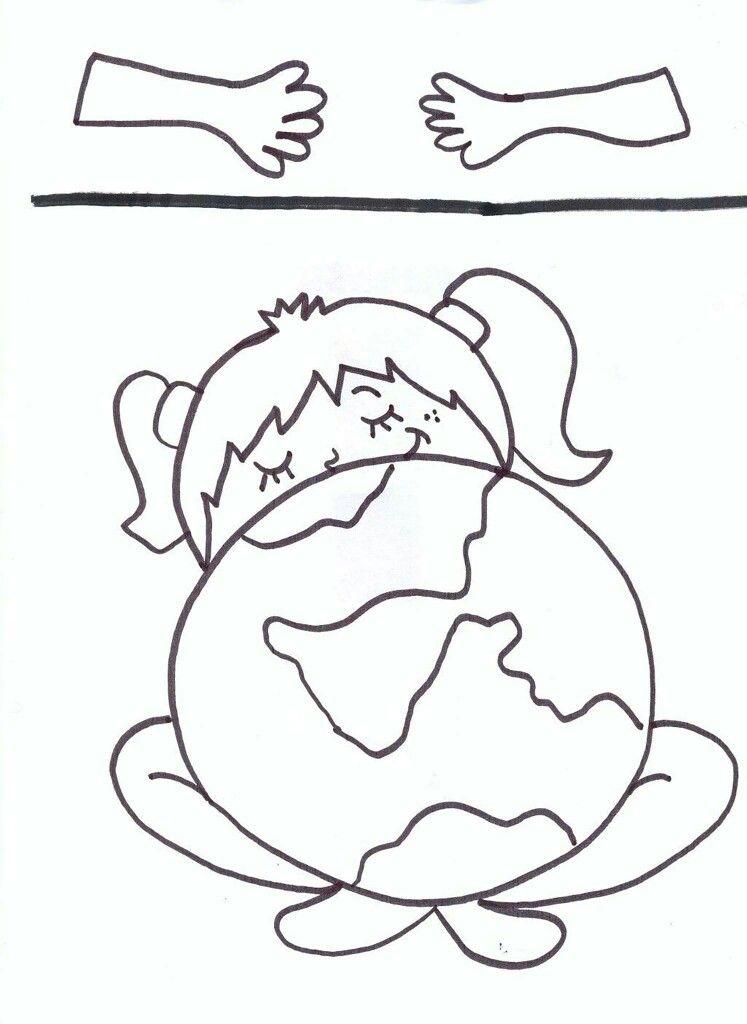 Pin De Naty Mora Em Kinder Dia Mundial Da Agua Atividades Do Dia Da Terra Paginas Para Colorir