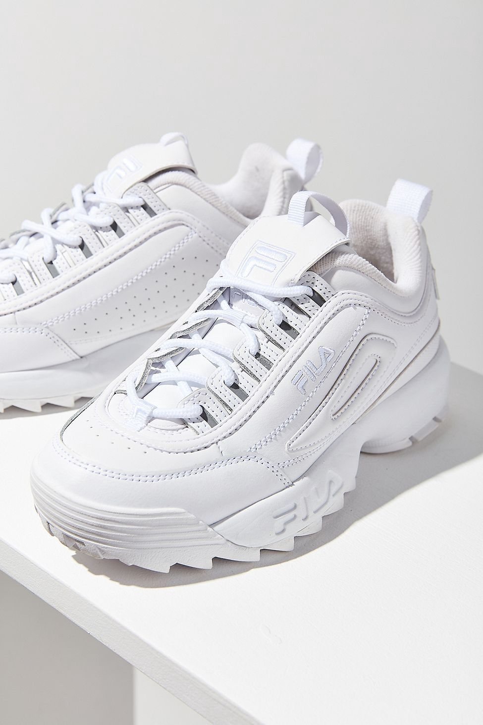 Fila DISRUPTOR Trainers white Men Shoes latest fashion