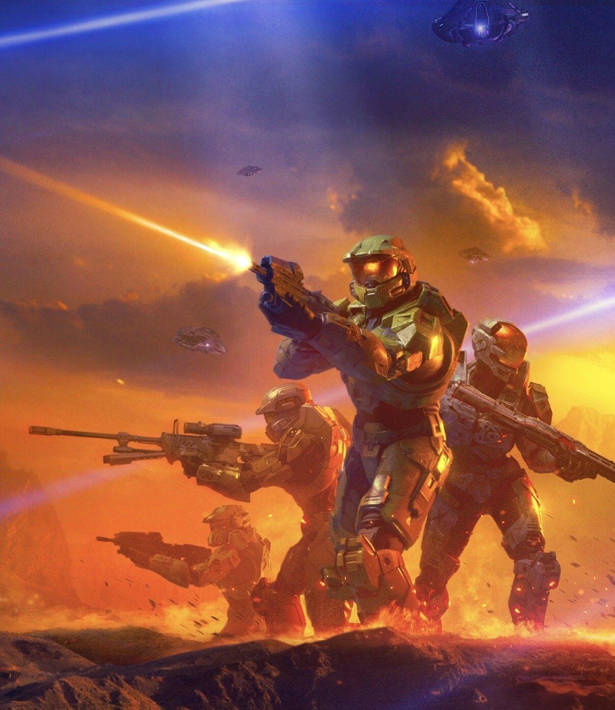 Halo Shadows Of Reach Chris Mcgrath On Artstation At Https Www Artstation Com Artwork 58k38j Halo Master Chief Halo Armor Halo Spartan