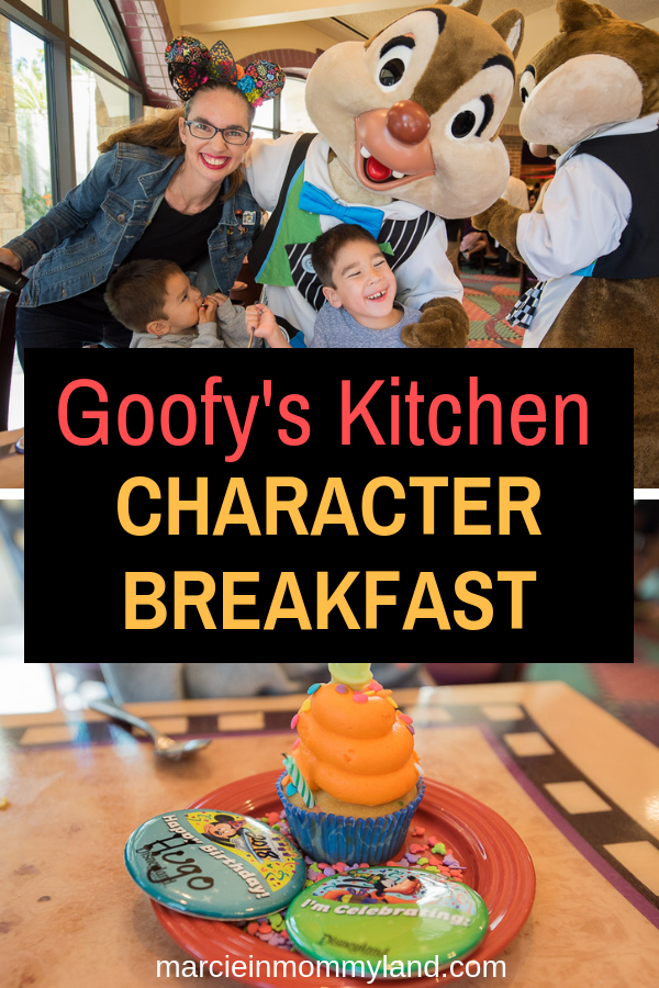 Goofy S Kitchen Character Breakfast Destinations Marcie In Mommyland Character Breakfast Disney Character Dining Disneyland Vacation