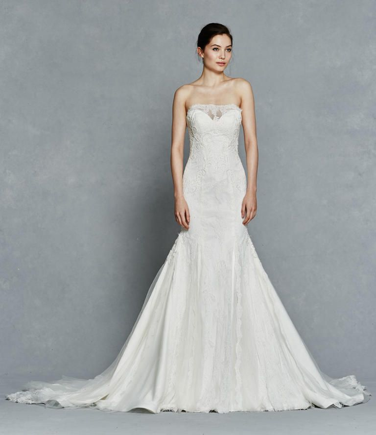 Kelly Faetanini Bridal Collection 2017 fit and flare wedding gown #weddingdress #bridal