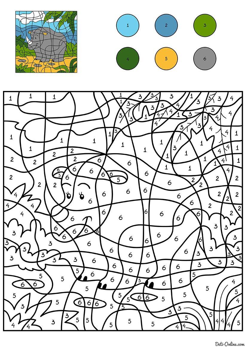 Pin von Pere Bernal Torres auf Pintar x números | Pinterest | Zahlen ...