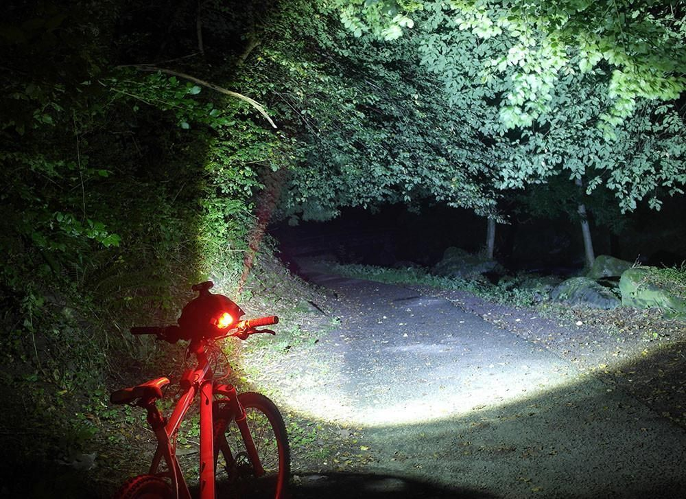 Usb Rechargeable Bike Light Set Front And Rear Bike Lights Has