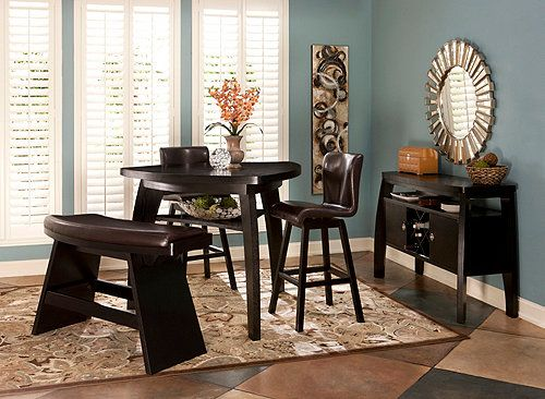 Forrest 4Piece Dining Set From Raymour Flannigan  Cozy  Closets Classy Raymour And Flanigan Dining Room Set Decorating Design