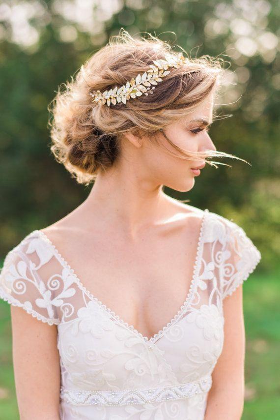Grecian wedding dress hairstyles