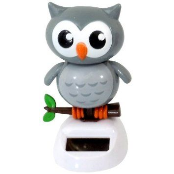 Grey Owl Don T Have Solar Powered Toys Dancing Toys Dancing Figures