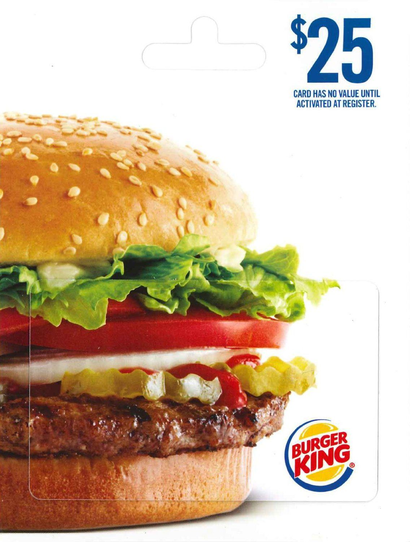 Burger king giveaway