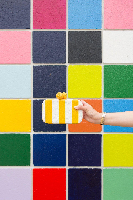 Colorful Tile Wall in San Diego La Jolla Street Art Murals | La ...