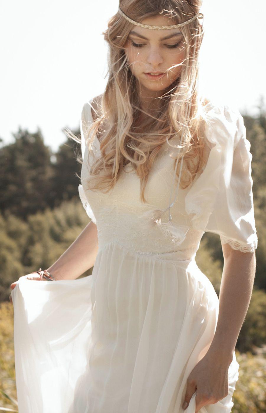 Hippie Style-Wedding Dress- Felicita Design Brautkleid ...