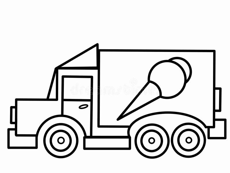 Ice Cream Truck Coloring Page Beautiful Ice Cream Truck Kids Educational  Coloring Pa… Truck Coloring Pages, Ice Cream Coloring Pages, Valentines  Day Coloring Page
