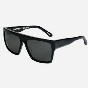 Quiksilver Mens Sun  Quiksilver Mens Sunglasses Jail Tatt Shiny Black Grey f3a2b06289ec