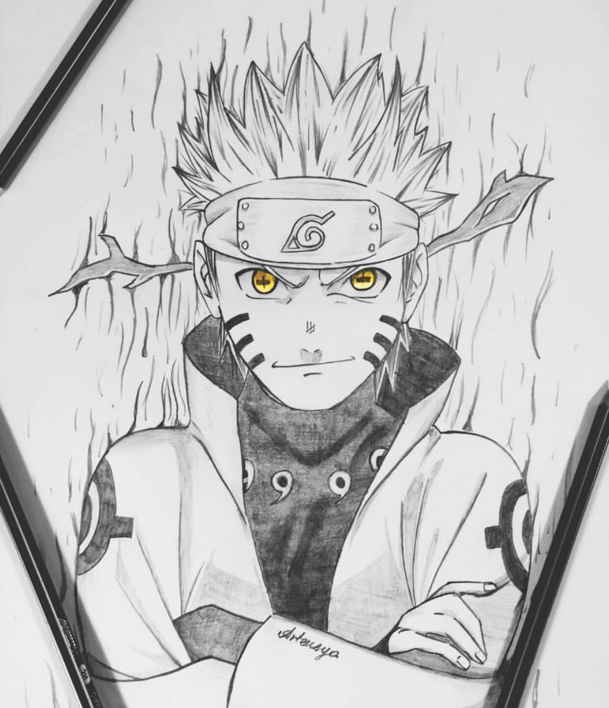 Anime Ignite Igniteartistscorner Artensya Check It Out Here Anime Ignite This Amazing Artist Creates Som Naruto Sketch Drawing Naruto Sketch Anime