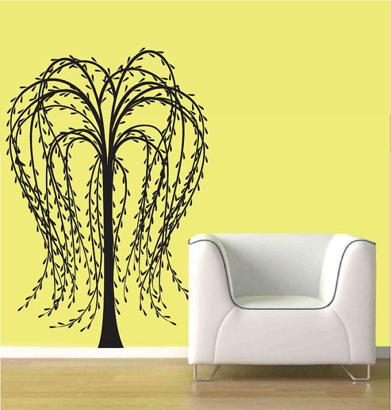 wall decal weeping willow tree Wall Decal by ModernWallDecal, $84.00 ...