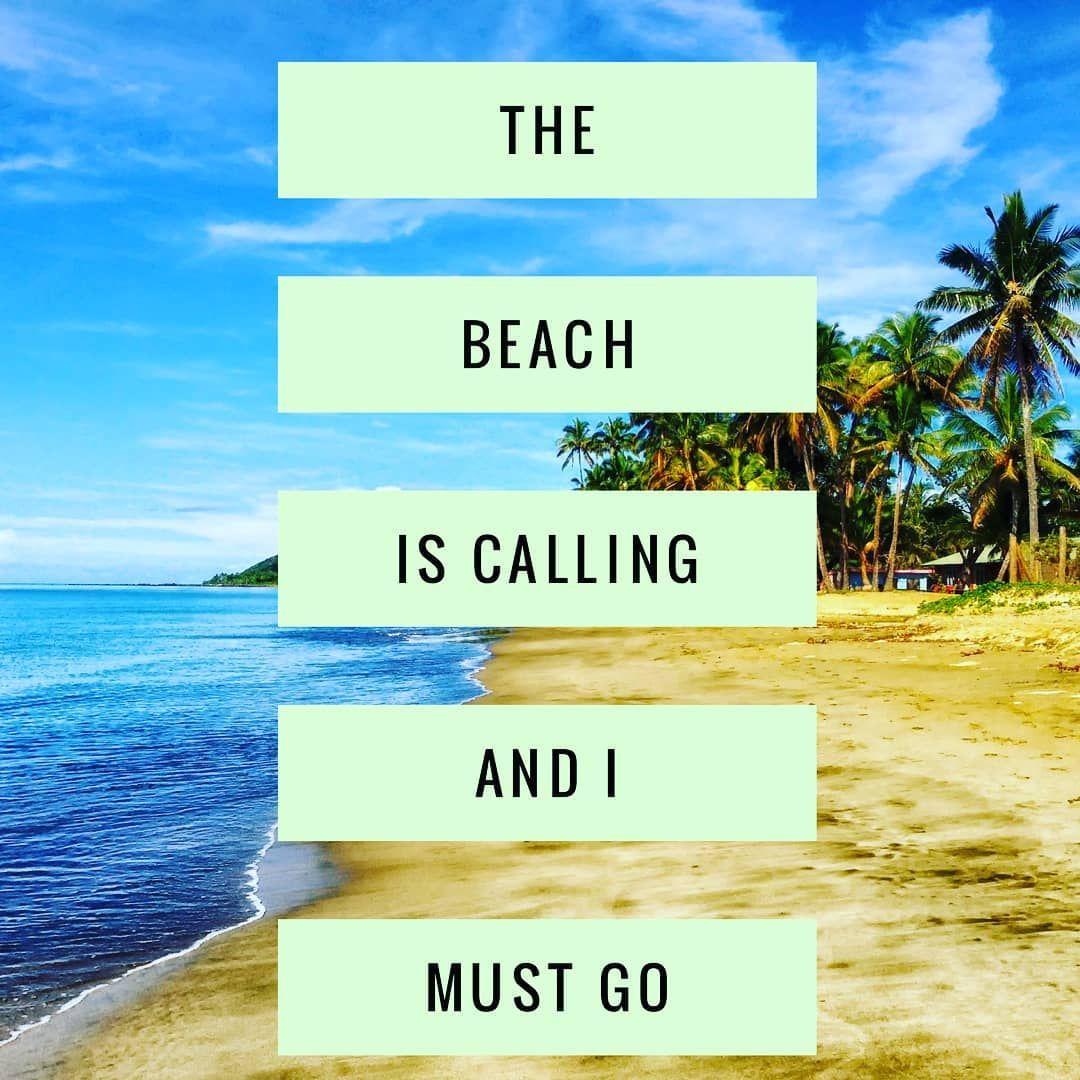 The Beach Is Calling And I Must Go Beach Meme Beachviews Sandandsea Lifebythesea Bytheseaside Saltysoul Beachv Beach Memes Vacation Meme Vacation Humor