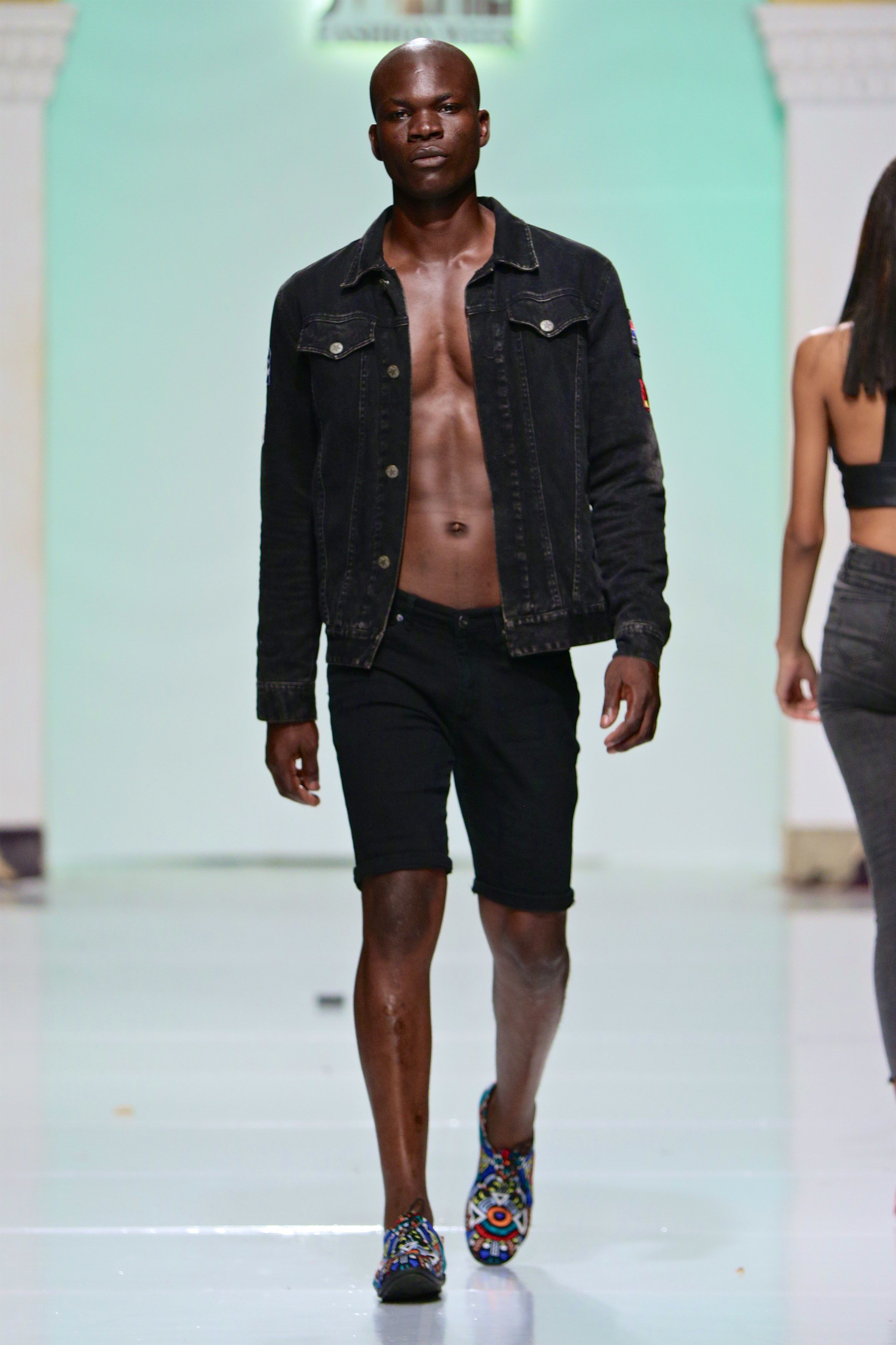 Swahili Fashion Week Best 2019 Thomas Nguka Best Male Model Of East Africa Swahili Fashion Best Male Models Black Male Models