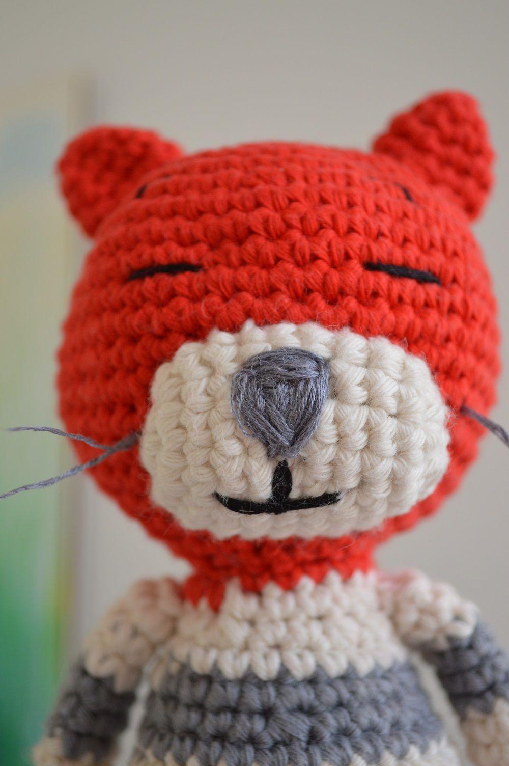 geh kelter kater nach einer anleitung von nekoyama h keln crochet amigurumi. Black Bedroom Furniture Sets. Home Design Ideas
