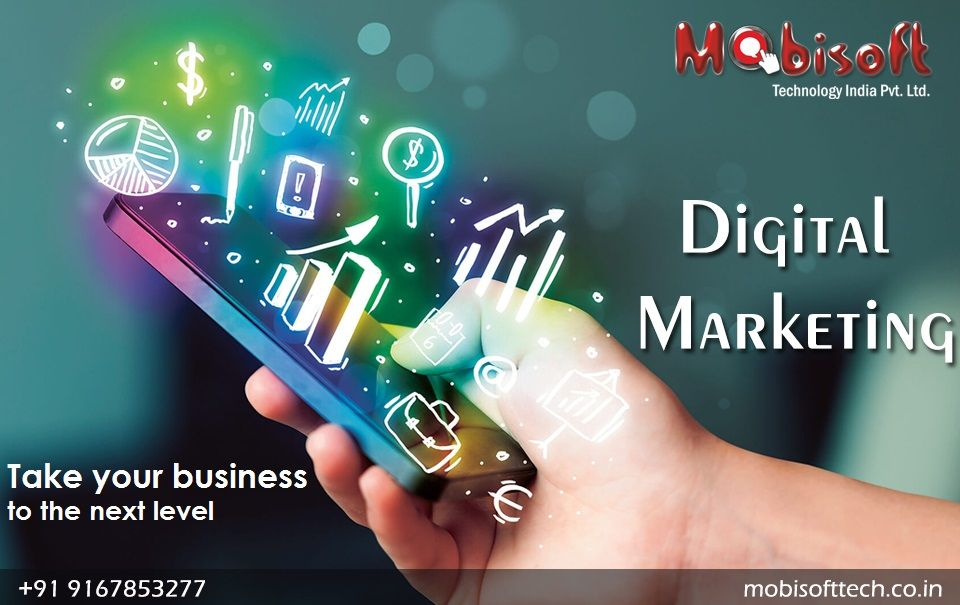 Pin by Mobisoft Technology India on Social Media Digital